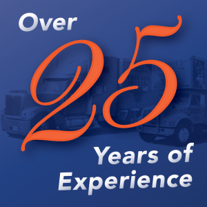 over 25 years of experience moving banner