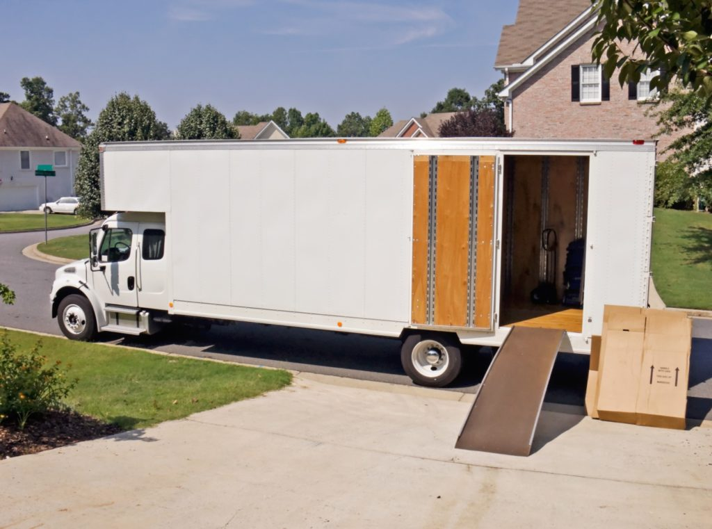 piano moving truck