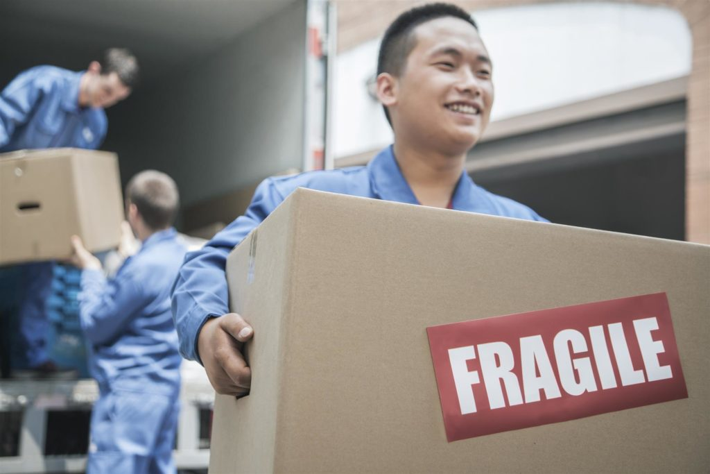 convenient residential moving and storage