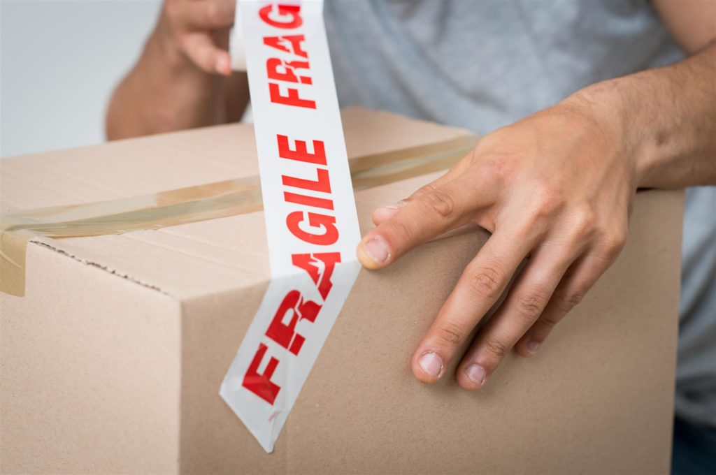 Properly Unpack Your Fragile Items