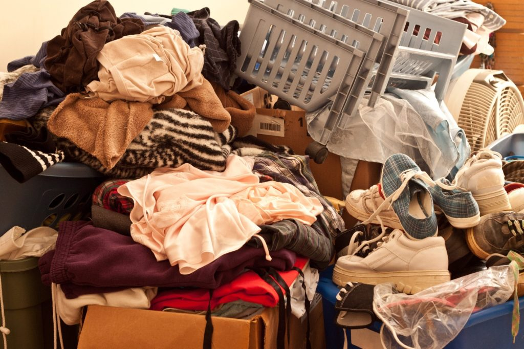 Clothing items for moving