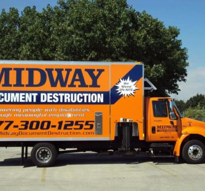 Midway Moving & Storage Truck