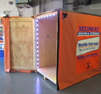 Midway Moving & Storage mobile storage box